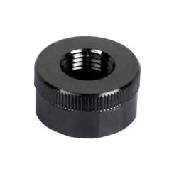 Swiftech  QC-NS-G1/4-F-BK Black Chrome Lok-Seal G1/4 Female End Cap