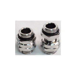 Swiftech G1/4-MMEXT-SHORT-CHR G1/4 Male-Male Lok-Seal SLI/CrossFireX connector fitting (11 to 18mm)