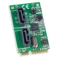 Syba SD-MPE40056 ASM1061 PCI-Express 2.0 SATA 6Gb/s 2XPort Controller