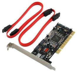 Syba SD-SATA-4P 4XPort SATA RAID PCI Controller Card