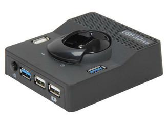 Syba SD-HUB20102 USB 3.0 Hub w/ Fast Charging Port for iPad,iPod,iPhone,Tablet PC