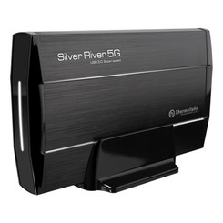Thermaltake ST0025U Silver River 5G USB3.0 3.5in SATA HDD External Enclosure