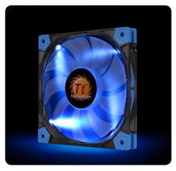 Thermaltake CL-F035-PL12BU-A Luna 12 Slim LED Blue Fan