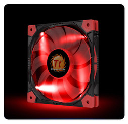Thermaltake CL-F035-PL12RE-A Luna 12 Slim LED Red Fan