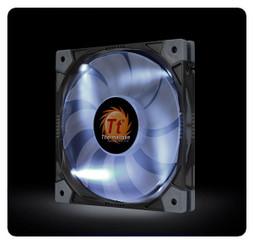Thermaltake CL-F035-PL12WT-A Luna 12 Slim LED White Fan