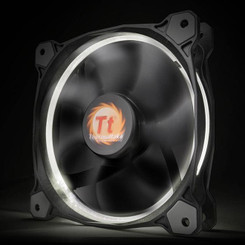 Thermaltake CL-F039-PL14WT-A Riing 14 High Static Pressure White LED Radiator Fan