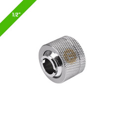 Thermaltake CL-W031-CA00SL-A Pacific 1/2in ID x 5/8in OD Compression � Chrome