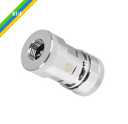 Thermaltake CL-W029-CU00SL-A Pacific QC1 Quick Connector – Chrome