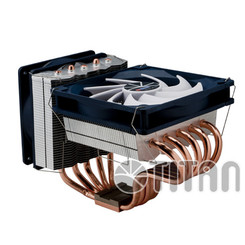 Titan TTC-NC55TZ(RB) Siberia 220W TDP 2in1 Dual Heatsink/Fan AMD/Intel CPU Cooler