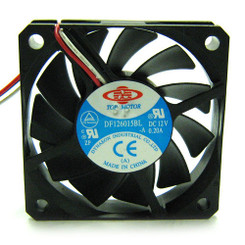 Top Motor DF126015BL 60x15mm Ball Bearing Fan, 3Pin