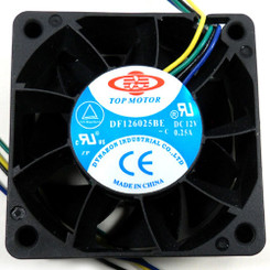 TOP MOTOR DF126025BE-PWMG 60x60x25mm PWM Fan, 4PIN PWM