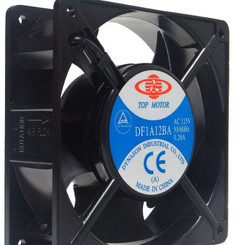 Top Motor 120x120x38mm AC 115V Fan (DF1A12BA) - No Wire