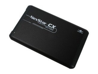 Vantec NexStar CX NST-200S2-BK 2.5 in SATA HDD Enclosure