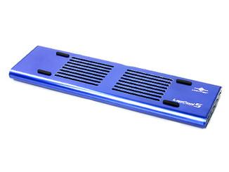 Vantec LapCool5 LPC-501-BL Notebook Cooler w/ 3 USB 2.0 Port (Blue)