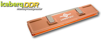 Vantec ICEBERQ DDR memory heat spreader Copper DDR-A1C