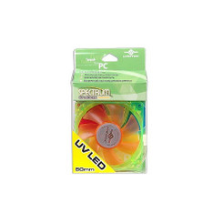 Vantec SP80UVLED-GO Spectrum UV LED 80x80x25mm FAN