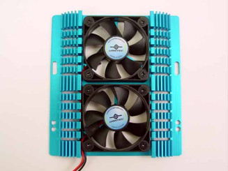 VANTEC HARD DRIVE COOLER HDC-502A HEAT SINK WITH 2 FANS