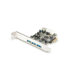 Vantec UGT-PC341 4-Port SuperSpeed USB 3.0 PCIe Host Card
