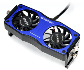 Zalman ZM-RC1000-Blue Dual 60mm Fan RAM Cooler