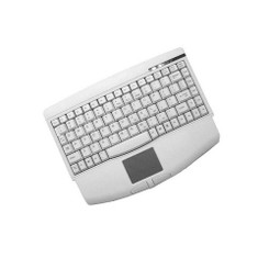 Adesso ACK-540 (Beige) Mini Built-in Touch Pad Keyboard (PS/2)