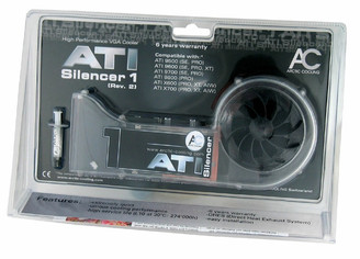 ArcticCooling AVC-AT1R2 ATI Silencer 1 (Rev. 2) VGA Cooler