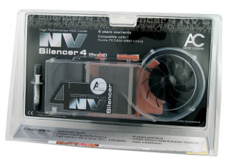 Arctic Cooling NV Silencer 4 Rev. 2 (NV4 Rev2) VGA Cooler