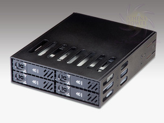 Athena BP-SATA1842B SATA Hot-Swap Backplane for 4 x 2.5in HDD