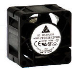 Dela FFB0424HHN 40x28mm 24V Ball BearingFan, 3Pin