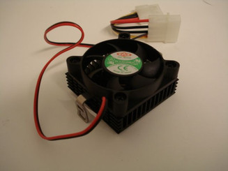 Dynatron DY-P55-BL Socket A/462/370 Low Profile CPU Cooler