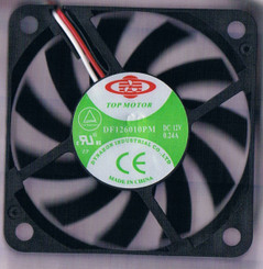 Dynatron DF126010PM-3G 60x60x10mm Ball Bearing Fan, 3Pin