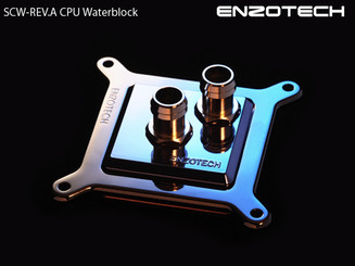 Enzotech SCW-REV.A Full Copper CPU Waterblock