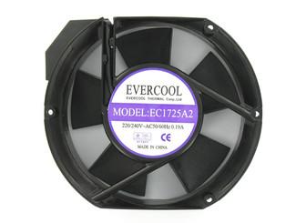 Evercool AC 220V 172x150x51.5mm Aluminum Fan EC1725A2HBT