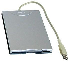 NEC YD-8U10 1.44MB USB External Floppy Drive (Silver)