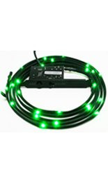 NZXT Sleeved LED Kit - Green (1m/39.37inch)