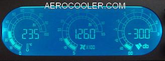 Scythe KAMA-METER SCKM-1000 5.25inch Bay Fan Controller w/ LCD Display