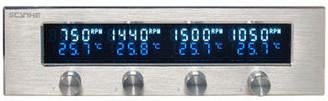 Scythe KM02-SL KAZE MASTER Ace 5.25inch Bay Fan Controller