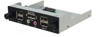 Scythe KST01-BK-3.5 (Black) Kaze Station 3.5 w/ IO Ports