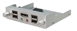 Scythe KST01-SLK-3.5 (Silver) Kaze Station 3.5 w/ IO Ports