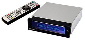 Silverstone MFP51B Multi-media system LCD display, Black