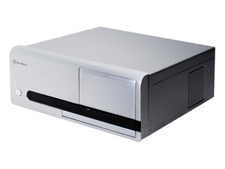 Silverstone SST-LC20S (Silver) Lascala Series HTPC Case