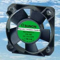 SUNON 40x40x10mm Ballbearing fan 3 Pin KDE1204PFB2