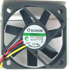 Sunon KDE1205PFV2  50x50x10mm MagLev Fan,3PIN