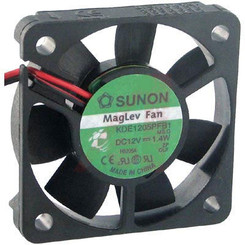 Sunon 50x50x10mm Fan, KDE1205PFV1, 3Pin