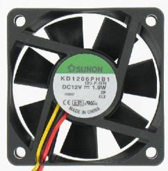 Sunon KD1206PHB1 60x60x15mm 3Pin