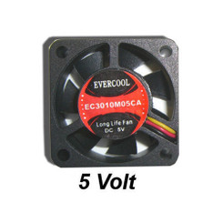 EverCool EC3010M05CA 30X30X10 mm 5V Fan 3Pin