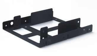 Kingwin HDM-225-BK Dual 2.5in HDD Mounting Kit to 3.5inch Bay