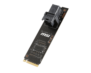 MSI Turbo U.2 Host Card Turbo M.2 4xPCI-Express3.0 Host Card