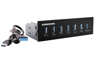 Kingwin KW525-7U3C 7-Port USB 3.0 Hub with 1 x Fast Charging Port