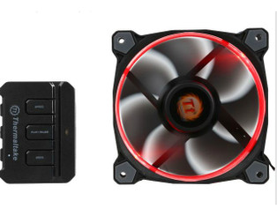 Thermaltake CL-F042-PL12SW-A Riing 12 RGB  120mm RGB LED Fan (Single Pack)