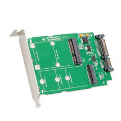 SYBA SI-ADA50067 M.2 NGFF to SATA III with Standard/Low Profile Brackets